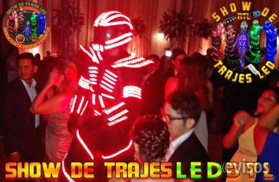 Show de trajes led guayaquil