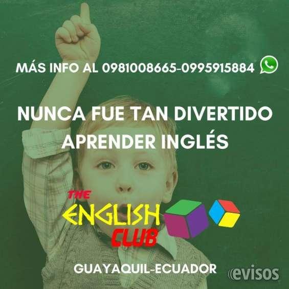 Cursos de inglés para niños y adultos
