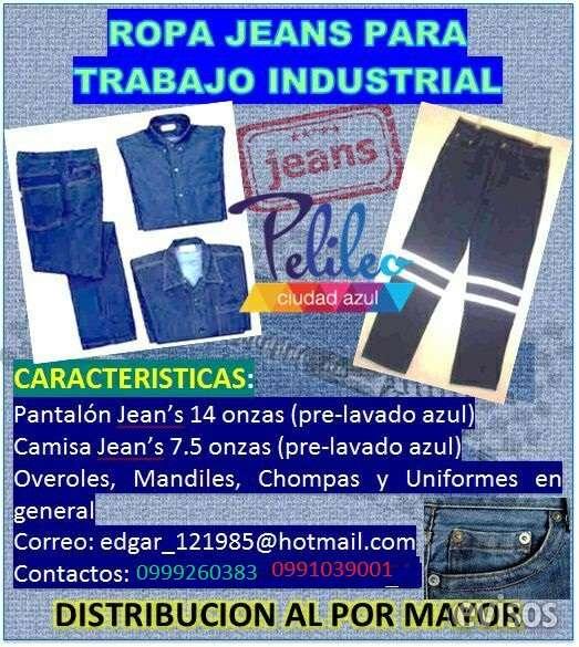 Jeans de trabajo industrial