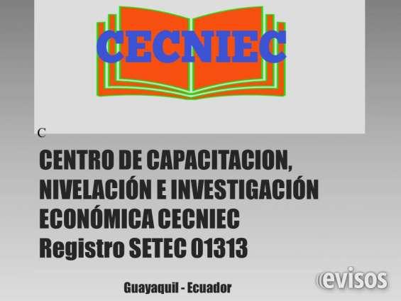 Centro de capacitación, nivelación e investigación económica cecniec
