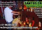 Curandero peruano santos cruz