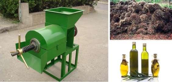 Prensa de aceite para palma africana 300 - 500 kg hora