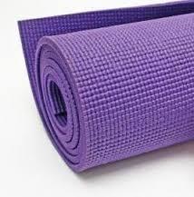 Colchonetas de yoga figura cuadriculada para ejercicios