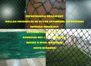 MALLAS DE NYLON DE CANCHAS DE FUTBOL 0984660771