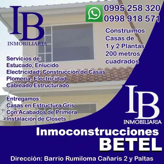 Inmoconstrucciones: servicio se construcción y venta de propiedades