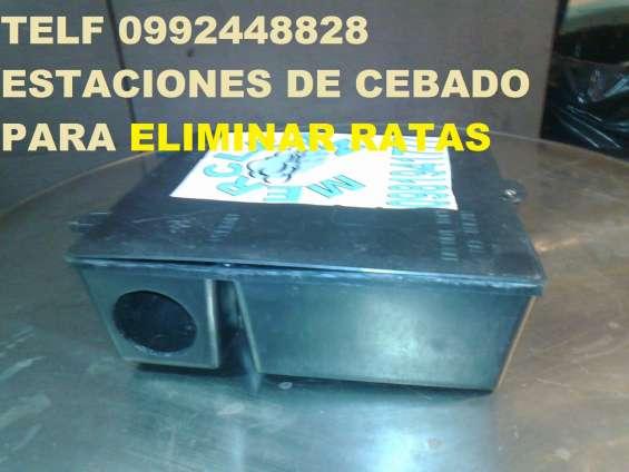 Telf 0987058464 cajas cebaderas para ratas y ratones