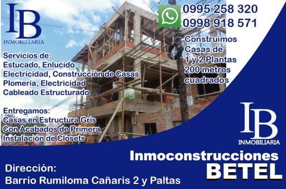 Inmoconstrucciones betel