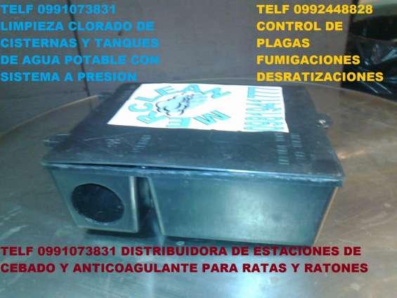 Telf 0981941777 venta de cajas con veneno para control de plagas