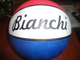 Balones #7 bianchi de basquet para pisos de cemento