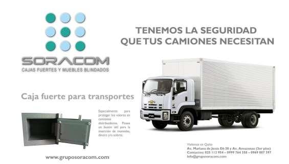 Cajas fuertes para camiones