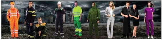 Mandiles, ropa de trabajo, uniformes, overoles, proteccion personal