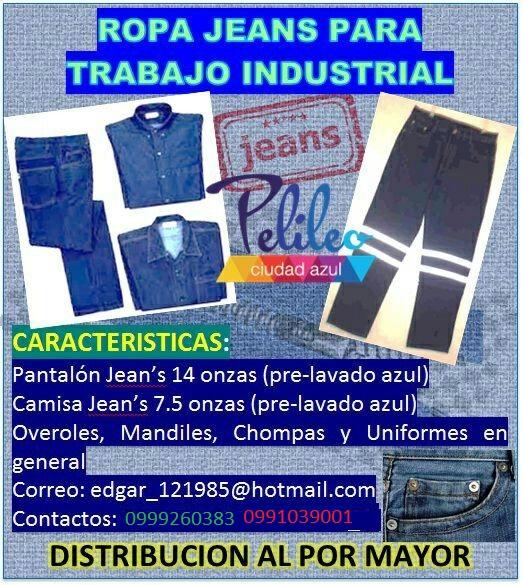 Jeans de trabajp industrial