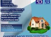 Servicios inmobiliarios vía Internet - Rumiloma