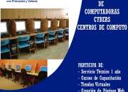 Venta de computadoras de instalación de centros de cómputo en Sangolquí