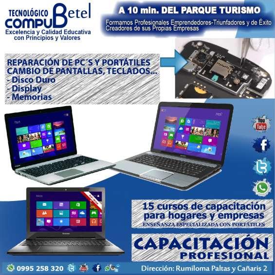 Compu betel: venta de computadoras y servicio tecnico