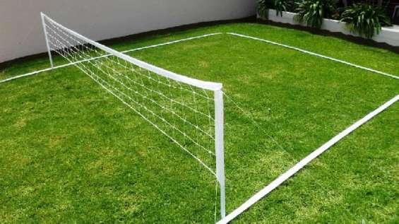 Redes de futboltenis nylon importada