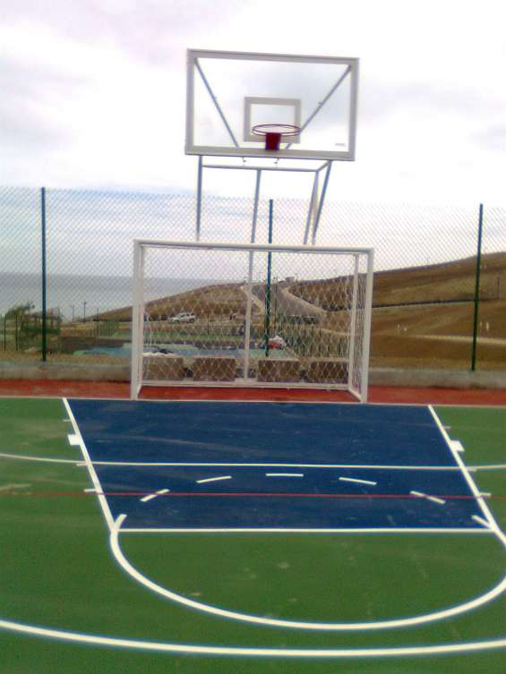Tablero de basquet mixto 022526826