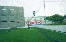 Mallas para cerramiento de canchas de futbol