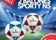 BALON N°5 SPORTY 022526826 ECUADOR