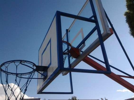 Aro de basquet con base quito ecuador