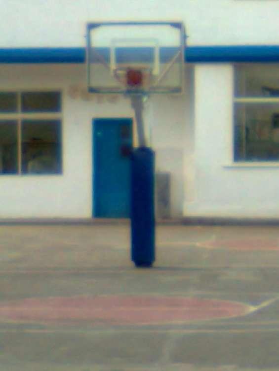 Tablero de basquet fijo con protector quito ecuador