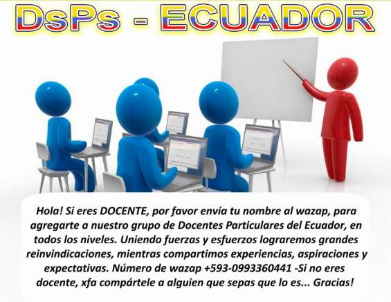 Docentes particulares