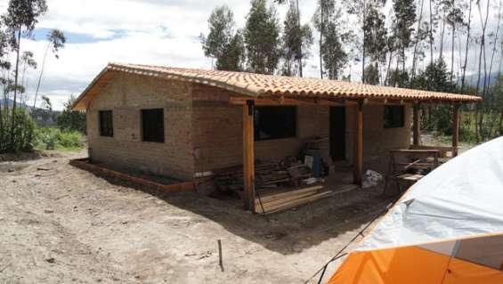 Venta de casa de campo en otavalo sector gualsaqui