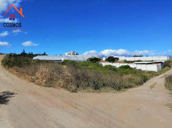 Se vende un terreno de 854 m2 en bellavista de san antonio de ibarra