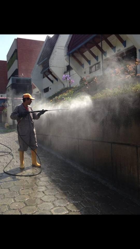 Limpieza de hormigon, pisos, fachadas