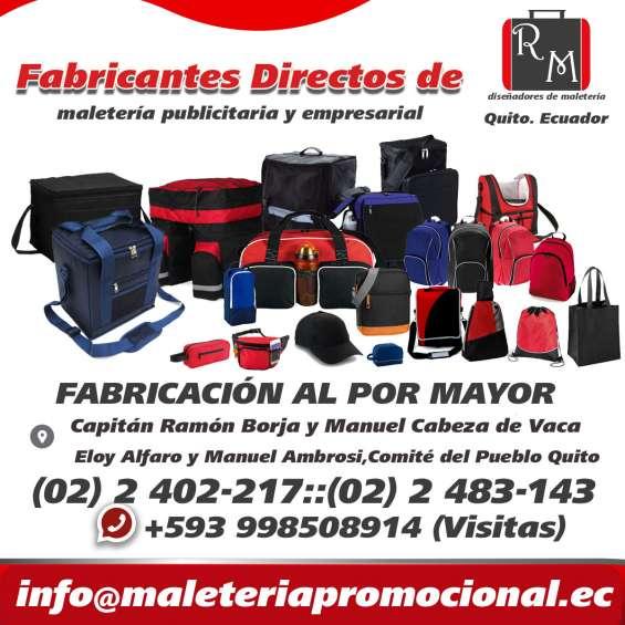 Fabricantes de maletas en ecuador