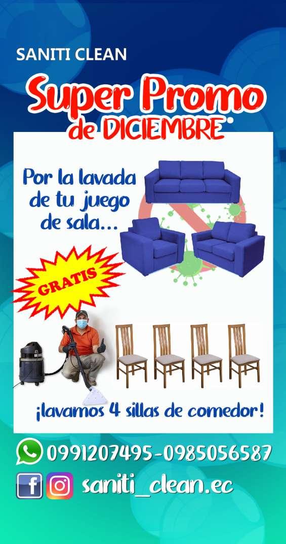 ¡promoción por diciembre! somos saniti clean