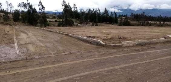 Se vende lotes de terreno al norte de riobamba