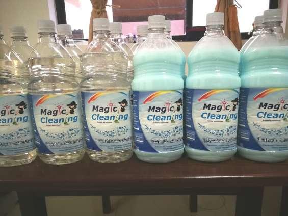 Detergentes y productos de limpieza magic clean